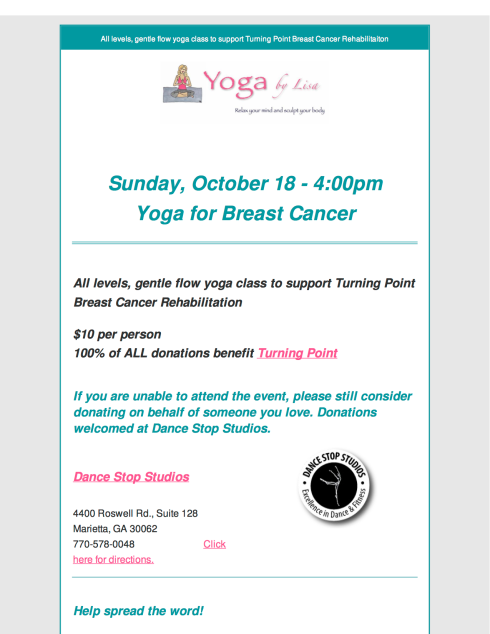 Yoga for Breast Cancer 101815